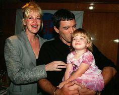 """Antonio Banderas y Melanie Griffit-En 1995 se enamoraron durante el rodaje de """"Two Much"""". Desde entonces se han convertido en unas de las parejas más sólidas de Hollywood tras 15 años de matrimonio."""