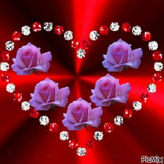 Discover & share this Animated GIF with everyone you know. Love You Gif, Love You Images, Flowers Gif, Love Flowers, Heart Wallpaper, Flower Wallpaper, Beautiful Gif, Beautiful Roses, Hearts And Roses