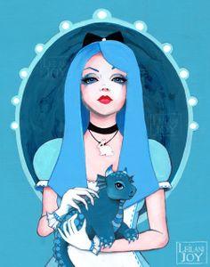 Alice Wore Blue by Leilani Joy.