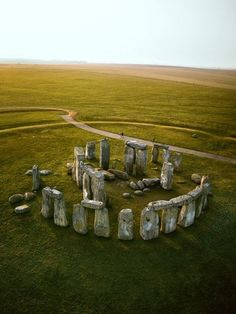 I've actually been inside Stonehenge and had the opportunity to touch the stones.