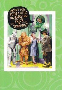 Vintage hot dog childrens magazine 3 the wonderfull wizard of oz greeting card halloween wizard of oz arent you a little too big for bookmarktalkfo Image collections