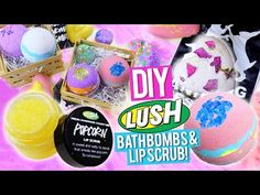 DIY LUSH SHOWER JELLY + Demo! SUPER EASY AND INEXPENSIVE - YouTube