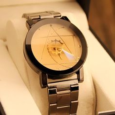 Luxury Watch Fashion Stainless Steel Watch
