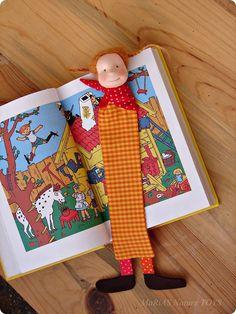 Pippi Longstocking  bookmark