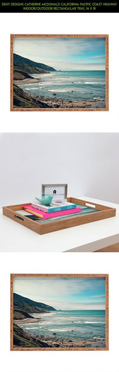 DENY Designs Catherine McDonald California Pacific Coast Highway Indoor/Outdoor Rectangular Tray, 14 x 18 #parts #plans #fpv #california #drone #decor #technology #outdoor #camera #gadgets #kit #products #tech #racing #shopping