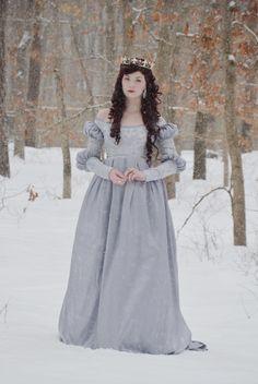 Silvery Blue Dress, Photos | Angela Clayton's Costumery & Creations