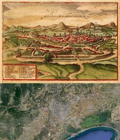 Kempten Germany Map Then And Now OldCities - Germany map then and now