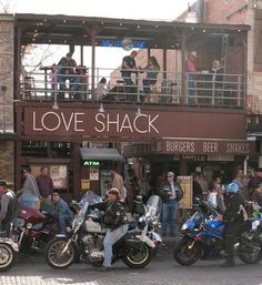 Tim Love's Love Shack, The Stockyards, Fort Worth. Order the Original Dirty Bird (Love Sauce rocks).