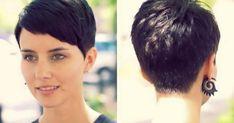 Pixie Back View, Pixie Cut Back, Short Pixie, Divas, Front Hair Styles, Julianne Hough, Pixie Hairstyles, Hair Cuts, Bridal