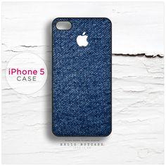 iPhone 5 case Denim and Logo T48 $22.00!