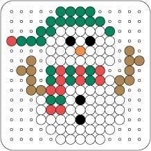 Bügelperlen – Schneemann Ironing beads – snowman Get more photo about subject related with by looking at photos gallery at Pearler Bead Patterns, Perler Patterns, Pixel Art Noel, Christmas Perler Beads, Hama Beads Design, Peler Beads, Melting Beads, Theme Noel, Perler Bead Art