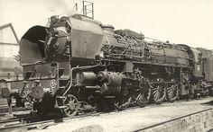 241 A 38 La Villette. France, Steam Engine, Steam Locomotive, Thing 1, Around The Worlds, Vehicles, Photos, Europe, Train Station