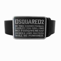[G228]ディースクエアード/DSQUARED2/BE4038 V291 2124/メンズ/ベルト/男性ベルト/ブラック
