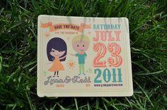 Wedding Invitation + Collateral by Lauren Okura, via Behance