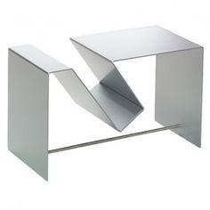 Lobby Beistelltisch - Silber
