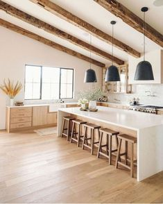 10 trend inspirations for the kitchen design - Home Fashion Trend Küchen Design, Home Design, Layout Design, Design Ideas, Creative Design, Modern Design, Kitchen Post, New Kitchen, Earthy Kitchen