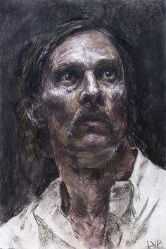 Rust Cohle in Carcosa by Cara Thayer & Louie Van Patte |True Detective HBO