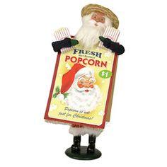 Popcorn Santa Signed by Joyce Byers $77.00