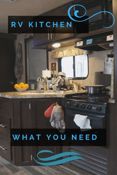 RV Kitchen Gear - What you really need
