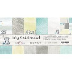 Scrapbooking Papers - MY CAT FRIEND (12x12) Printable Paper, Free Printable, Scrapbook Paper, Scrapbooking, Cork Art, Single Sheets, Secret Places, Craft Shop, Ms Gs