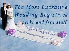 Amazing wedding registry checklist httpikuzowedding top 3 most lucrative wedding registries junglespirit Choice Image