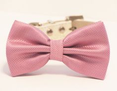Light Purple wedding dog collar Dog Bow Tie with by LADogStore, $27.50