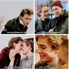 evak complimenting each other. my kink.