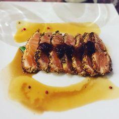 #tataki #salmon #sashimi #sushi #japanese #milan #restaurants #dinner #food #foodporn by jessica_zoe7