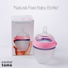 Comotomo Baby Bottles - designed to most closely mimic natural breastfeeding.
