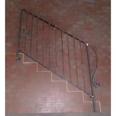 Wrought Iron RAILING. Custom Realizations. 040 Wrought Iron, Scale, Home Decor, Weighing Scale, Interior Design, Home Interior Design, Balance Sheet, Stairway, Weight Scale