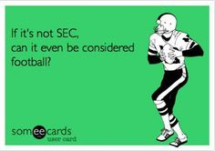 No is the correct answer, just in case you were wondering. Sec Football, Alabama Football, Football Season, Football Memes, College Football, Football Parties, Auburn Football, American Football, Georgie