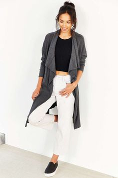 Silence + Noise Izzy Cardigan - Urban Outfitters