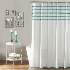 Aria Shower Curtain - The High-Impact Bath on Joss & Main