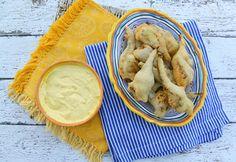 Italian Food Forever » Fried Artichokes {Carciofi Fritti} With Lemon Aioli