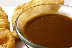 Imli Ki Chatni or Tamarind Chutney Recipe Tamarind Chutney, Tamarind Sauce, Chutneys, Healthy Eating Recipes, Cooking Recipes, Cooking Ideas, Healthy Foods, Recipe Master, Chutney