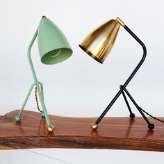 onefortythree — Shaded tripod desk lamp