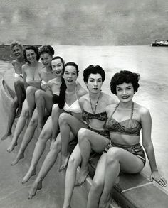 1950's bathing beauties