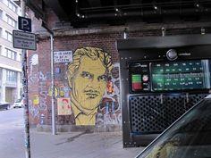 Street Art, Dircksenstrasse Berlin