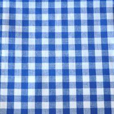 Lucy Check - Blue/White Gingham Check, Blue And White, Shirt Dress, Fabrics, Tejidos, Shirtdress, Cloths, Fabric, Textiles