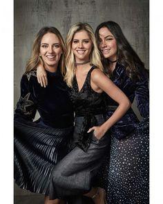 O trio @lalatrussardirudge @lelesaddi e @lutranchesi está a frente da nova campanha de inverno 2017 da @amissimaoficial. A coleção aposta no prateado e dourado pra tingirem saias vestidos blusas blazers e calças. Para combinar tecidos como veludo e algodão complementam os looks unindo o clássico com o moderno. #promovogue  via VOGUE BRASIL MAGAZINE OFFICIAL INSTAGRAM - Fashion Campaigns  Haute Couture  Advertising  Editorial Photography  Magazine Cover Designs  Supermodels  Runway Models