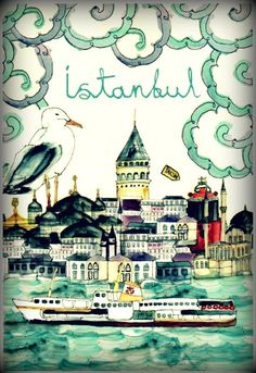 + Great memories of a fabulous holiday in Istanbul.Stayed at the Pera Palas Hotel, best G & T to date.
