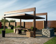 Pergola Ideas For Patio Vinyl Pergola, Pergola Carport, Pergola Canopy, Pergola Swing, Deck With Pergola, Outdoor Pergola, Covered Pergola, Backyard Pergola, Pergola Shade