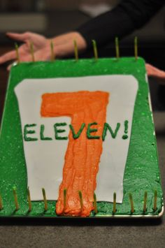 1000 Images About 7 Eleven Bday Party On Pinterest 7