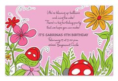 'Pink Ladybugs' by Invitation Consultants