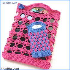 Mis Pasatiempos Amo el Crochet: Funda para celular