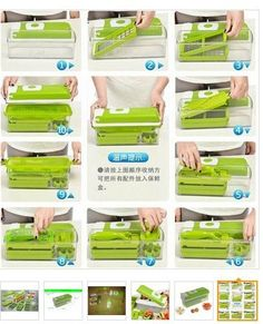 Amazon.com: Vegetable and Fruit Nicer Dicer Multipurpose Chopper-stainless Steel Blade-grater Kitchen Tool Set-:   HELPS YOU TO: ENJOY YOUR MEALS, even if you are on a DIET (Raw, Vegan, Low Carb, Gluten-Free, No-Wheat, Paleo, etc.), REPLACE HIGH CARB Pasta or Noodles with healthy and colorful veggie ones, Get your picky CHILDREN and FAMILY to EAT plenty of healthy VEGETABLES in disguise, SAVE TIME from slicing, dicing and conventional julienning methods, CRAVE for VEGETABLES !
