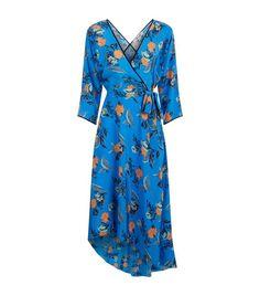 Women: Just In Diane von Furstenberg Floral Silk Wrap Dress