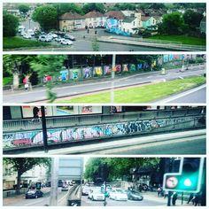 Whizzing through Bristol on a bus running two hours late heading to London to paint :-D #7thpencil #artsy #graffiti #contemporaryart #modernart #spraypaint #stencil #fun #followme #Streetart #graphicdesign #arts_help #design #illustration #art_prime #drawing #love #urbanart #instagood #mural #Artistic_Share #mcyarts #artwork #creative #artist  #photooftheday #Supportthearts #instafollow #141 #FF