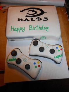 Halo XBox  cake