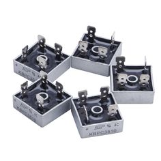 5Pcs 35A KBPC3510 1000V Metal Case Single Phases Diode Bridge Rectifier New #electronicsprojects #electronicsdiy #electronicsgadgets #electronicsdisplay #electronicscircuit #electronicsengineering #electronicsdesign #electronicsorganization #electronicsworkbench #electronicsfor men #electronicshacks #electronicaelectronics #electronicsworkshop #appleelectronics #coolelectronics